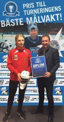 Lucas Olander won Consat Trophy 2016